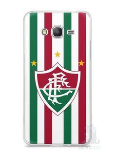 Capa Samsung Gran Prime Time Fluminense - SmartCases - Acessórios para celulares e tablets :)