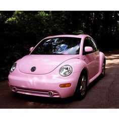 the only thing better than a Punchbuggy is a PINK Punchbuggy!!