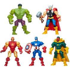 Marvel Super Hero Mashers Avengers Mash Pack, Multicolor