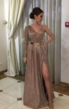 One Shoulder Long Prom Dress with Slit, Shop plus-sized prom dresses for curvy figures and plus-size party dresses. Ball gowns for prom in plus sizes and short plus-sized prom dresses for Tulle Prom Dress, Slit Dress, The Dress, Dress Long, Long Dress Formal, Formal Dance, Formal Prom, 30th Birthday Outfit, Elegant Dresses