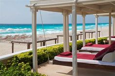 SANDOS CANCUN LUXURY EXPERIENCE RESORT ALL INCLUSIVE in Cancun, Mexico. #Cancun #Mexico