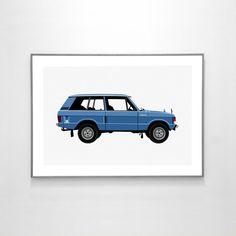 Land Rover Range Rover Classic 1970 BIG POSTER 19x13 by loscadotte https://www.etsy.com/listing/270924033/land-rover-range-rover-classic-1970-big