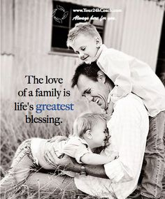 The Love of a family is life's greatest blessing. Love My Family, Family Life, Qoutes About Life, Online Coaching, Good Thoughts, Family Quotes, Cute Quotes, Confessions, Laughter