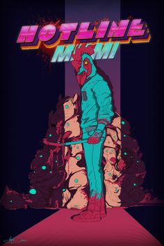 Hotline Miami. Weew. I just love all the art for theis game -Will