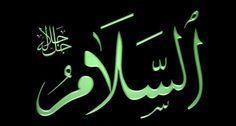 """Bismillâhirrahmanirrahîm..  """" O, Kendisinden başka ilah olmayan Allah'tır. Hükümdâr'dır. Mukaddestir; Selâmdır; güvenlik Verendir; gözetip koruyandır; daima Galib; istediğini yaptıran ve büyüklükte eşi olmayandır. Allah, onların ortak koştukları  şeylerden münezzehtir."""" """"el-Haşr Suresi 23. Âyet Meali"""""""