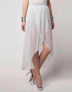 Bershka Hong Kong S.A.R. of China - Bershka tulle asymmetric skirt