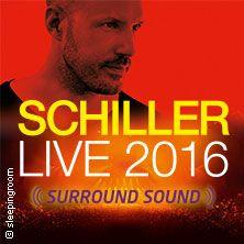 Schiller - Live 2016 // 27.09.2016 - 14.10.2016  // 27.09.2016 20:00 DRESDEN/MESSE DRESDEN, HALLE 1 // 28.09.2016 20:00 ROSTOCK/StadtHalle Rostock // 29.09.2016 20:00 HAMBURG/Barclaycard Arena // 30.09.2016 20:00 HANNOVER/Swiss Life Hall // 01.10.2016 20:00 KÖLN/LANXESS arena // 02.10.2016 20:00 BIELEFELD/Seidensticker Halle Bielefeld // 03.10.2016 20:00 ERFURT/Messehalle Erfurt // 05.10.2016 20:00 OBERHAUSEN/König-Pilsener-ARENA // 06.10.2016 20:00 FRANKFURT/Festhalle Frankfurt…