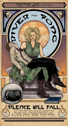 tick tock goes the clock even for the doctor   river song doctor who Twitter / RiverSongDWD: Fan-Art doesn't lie, when you ...