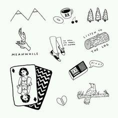 twinpeaks tattoo