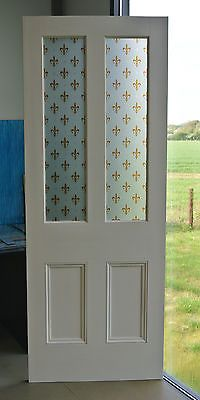 Burford 4 Panel 2 Light Glazed For The Bathroom And The