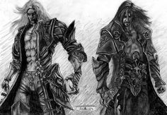 Castlevania: Lords of Shadow 2 by SSandels on DeviantArt Dracula Tattoo, Castlevania Lord Of Shadow, Lord Of Shadows, Shadow 2, Vampire Art, Art Corner, Alucard, Peeps, Sick