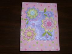 FREE: Cute pink polka dotted photo album!