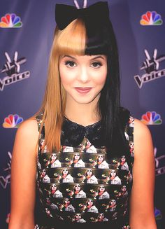 melanie martinez | This colours very interesting! Kinda like it on her..