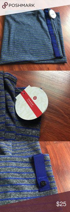 NWT Lululemon Athletica Vinyasa scarf Lululemon Athletica striped scarf lululemon athletica Accessories Scarves & Wraps