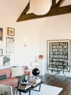 modern + cozy