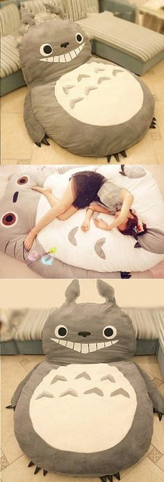 Check it out here==> | Totoro Bigsofa Bed | http://gwyl.io/totoro-bigsofa-bed/ (Tech Gadgets Dorm Room)