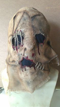 killer mask by VooDooWilly on Etsy