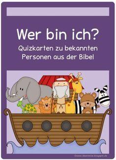 Ideenreise: Biblical quiz cards More , Godly Play, Kids Church, Bible Lessons, Science Education, Sunday School, Kids Learning, Kindergarten, Homeschool, Teaching