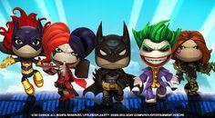 A,B,C...Games: Little Big Planet sigue recibiendo a los personajes de DC Comics