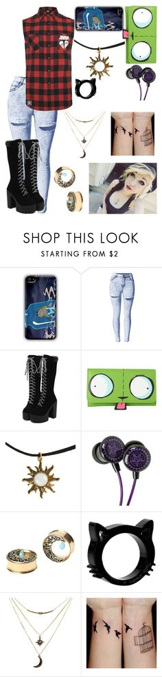 """Untitled #171"" by laughingj ❤ liked on Polyvore featuring Mikey and Charlotte Russe"