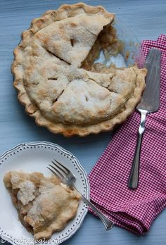 Classic Apple Pie ~ step-by-step illustrated recipe