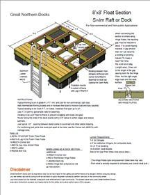 You can buy a Swim Raft Floating Dock Plan x with Great Northern Docks online today. Swim Raft Floating Dock Plan for Dock Builders x Lake Dock, Floating Dock, Floating House, Lakefront Property, Lake Cabins, Diy Deck, Building A Deck, River House, Boat Plans