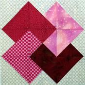 Heart Trick Quilt Block Pattern - via @Craftsy