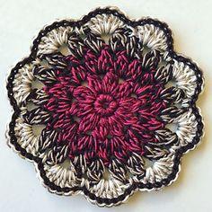 Mijo's Petal Coasters ~ free pattern ᛡ