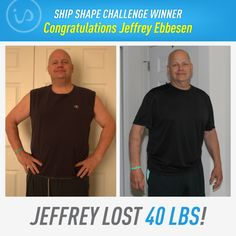 """""""I knew I had to change the way I was living. I wanted to lose weight the RIGHT way by taking it a day at a time and making complementary decisions along the way that would align with my goals. I searched for the best meal replacement out there and IdealShake came up over and over again. I love how the shakes taste pretty darn good and cost less than $2 a day! I currently weigh 234 lbs, a decrease of 40 lbs from my initial weight!"""" -Jeffrey"""