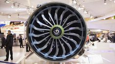 Meet the exclusive engine for the Boeing 737 MAX family of aircraft - the CFM LEAP. #GIF