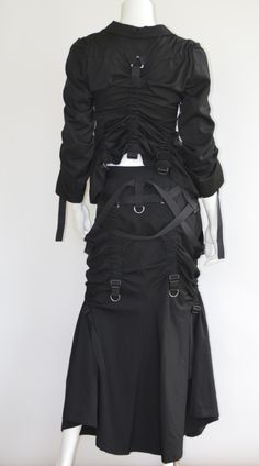 Visions of the Future // Junya Watanabe Comme Des Garcons Runway Parachute Suit image 2 Runway Fashion, Fashion Show, Fashion Looks, Womens Fashion, Fashion Fashion, Rei Kawakubo, Junya Watanabe, Fashion Details, Fashion Design