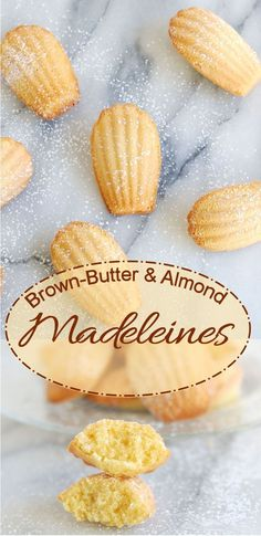 Brown Butter Almond Madeleines are so easy to make and so easy to eat!