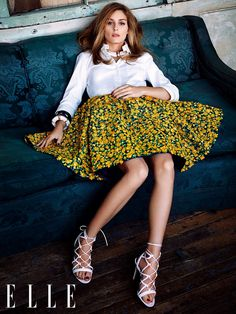 "myworldofelegance: ""Olivia Palermo for Elle Germany source:the Olivia Palermo Lookbook by Marta Martins """