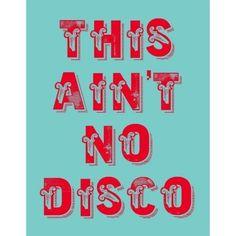 Talking Heads -This ain't no Disco