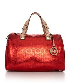 093a9fc8f96f7b MICHAEL Michael Kors Jet Set Monogram Grayson Satchel & Reviews - Handbags  & Accessories - Macy's
