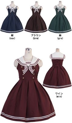 Bodyline sailor JSK - want in any colorway except brown