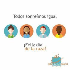 Hoy celebramos que la sonrisa es el lenguaje universal  de la felicidad. #diadelaraza