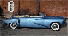 1948 Tucker Torpedo Convertible.  The Tucker cars were the most innovative automobiles of the 20th century.  Many of the innovations introduced in these cars are only just starting to be equipped in modern automobiles.