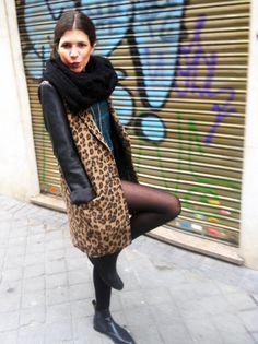 leopard #look #sensitivetobeauty #fashion #streetstyle  www.sensitivetobeauty.wordpress.com