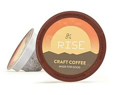 Rise C-Pods, Single Serve Coffee by Greater Goods - http://www.freeshippingcoffee.com/k-cups/rise-c-pods-single-serve-coffee-by-greater-goods/ - #K-Cups