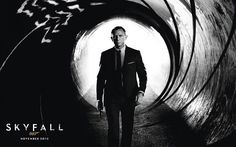James Bond 50th Anniversary Skyfall Posters #skyfall #design #art