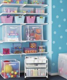 Children Playroom Storage