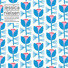 Jessica Nielsen, surface pattern design #pattern