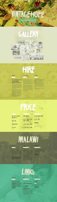 Unique Web Design, Vintage Hope @MARSAGENCY #WebDesign #Design (http://www.pinterest.com/aldenchong/)