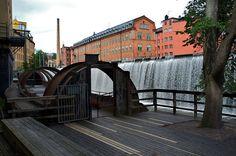 Industrial Heritage in Norrköping, Sweden | Industrilandskapet, Norrköping