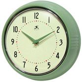 Found it at Wayfair - Retro Round Metal Wall Clock In Green