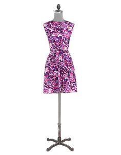 $89 Water Colour Print Dress