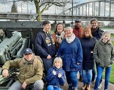 Yesterday this group joined for a Battle of #Arnhem guided city walk with our tourguide Ruud. It's probably the last tour in a few months as the #coronavirus #covid19 keeps spreading.  Bookings have dried up completely but we are hopeful that when the virus is conquered people will return to Arnhem! Good luck to big and small businesses in these difficult times. Take care of yourself and each other.