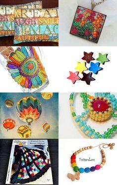 Rainbows by Rita Scott on Etsy--Pinned with TreasuryPin.com