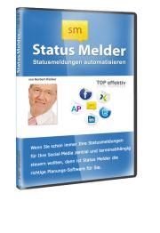 StatusMelder  Mit dem StatusMelder posten Sie Ihre StatusMeldungen per Autopilot    Mit dem Statusmelder ist ab sofort ein systematisches und automatisiertes Posten von Nachrichten möglich. Posten Sie Ihre Statusmeldungen mit dem Statusmelder per Autopilot und bringen den Turbo in Ihren Umsatz.  EUR 149,-